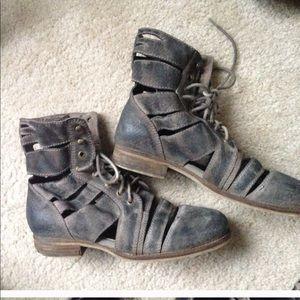Jeffrey Campbell cutout boots